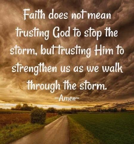 Faith & Storm